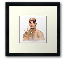 John Bena [John Cena Parody] Framed Print