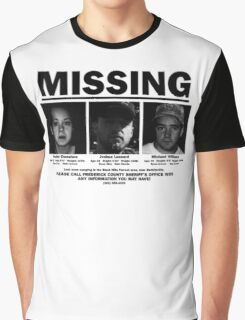MISSING - The Blair Witch Project Graphic T-Shirt