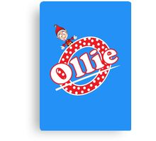 'O' is for Ollie! Canvas Print