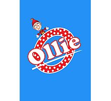 'O' is for Ollie! Photographic Print