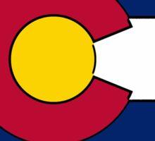 Arkansas Colorado flag Sticker