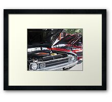 Exposed Engines Framed Print