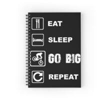 Go big - Enduro / Dh Spiral Notebook