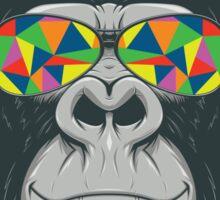 Trippy Hippy Gorilla Sticker