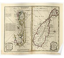 American Revolutionary War Era Maps 1750-1786 128 A new & accurate map of Bermudas or Sommer's Islands taken from an actual survey wherein the errors of Poster