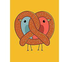 Love in pretzel Photographic Print