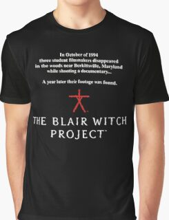 The Blair Witch Project Graphic T-Shirt