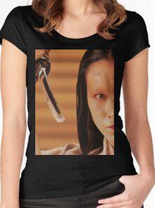 Lady Kaede - Mieko Harada - Akira Kurosawa - Ran - Shakespeare - King Lear Women's Fitted Scoop T-Shirt