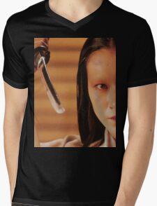 Lady Kaede - Mieko Harada - Akira Kurosawa - Ran - Shakespeare - King Lear Mens V-Neck T-Shirt