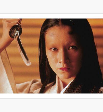 Lady Kaede - Mieko Harada - Akira Kurosawa - Ran - Shakespeare - King Lear Sticker
