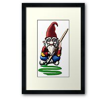 Painting Elf (Gnome) Framed Print