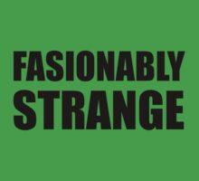 Fashionably Strange One Piece - Short Sleeve