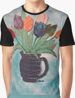 Tulips in a Vase 15B Graphic T-Shirt