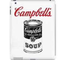 campbell soup iPad Case/Skin