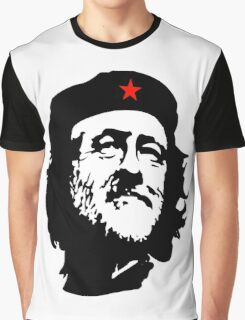CORBYN, Comrade Corbyn, Leader, Labour Party, Black on White Graphic T-Shirt