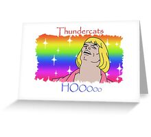 ThunderCats HO- Ft. HeMan Greeting Card
