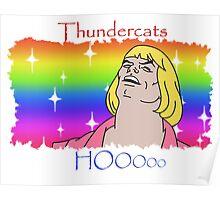 ThunderCats HO- Ft. HeMan Poster