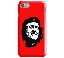 CORBYN, Comrade Corbyn, Leader, Labour Party, Politics, Black on RED iPhone Case/Skin