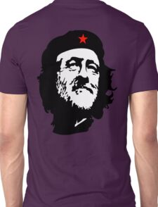CORBYN, Comrade Corbyn, Leader, Labour Party, Politics, Black on RED Unisex T-Shirt