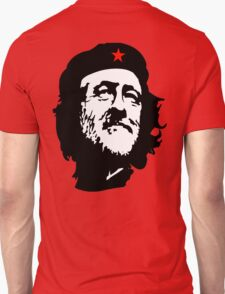 CORBYN, Comrade Corbyn, Leader, Labour Party, Black on RED T-Shirt