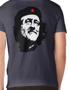 CORBYN, Comrade Corbyn, Leader, Labour Party, Politics, Black on RED Mens V-Neck T-Shirt