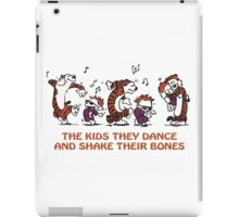 calvin and hobbes Dance iPad Case/Skin