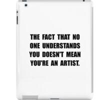 Understand Artist iPad Case/Skin