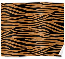 0144 Copper Tiger Poster