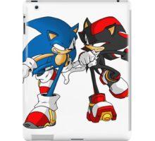 sonic and shadow iPad Case/Skin