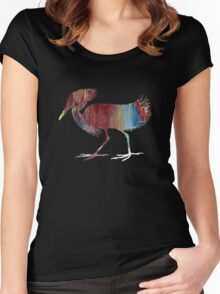 Egret  Women's Fitted Scoop T-Shirt