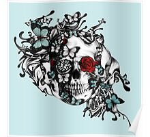 Lost Soul, Americana Butterfly Skull Poster