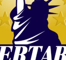 Libertarian Logo Sticker