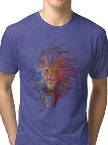 Lion cap Tri-blend T-Shirt