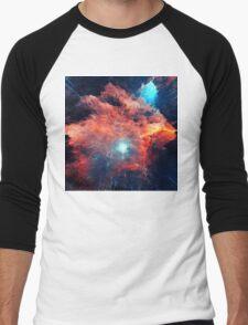 Abstract 03 Men's Baseball ¾ T-Shirt