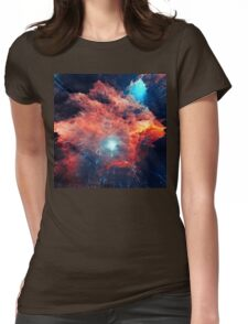 Abstract 03 Womens Fitted T-Shirt