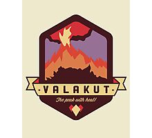 Valakut - The peak with heat! Photographic Print
