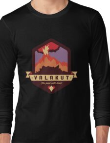 Valakut - The peak with heat! Long Sleeve T-Shirt