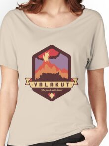 Valakut - The peak with heat! Women's Relaxed Fit T-Shirt