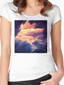 Abstract 12 Women's Fitted Scoop T-Shirt