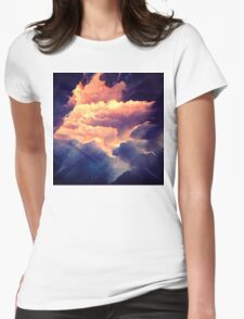 Abstract 12 Womens Fitted T-Shirt