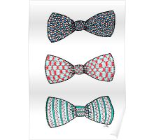 Bow Ties Poster