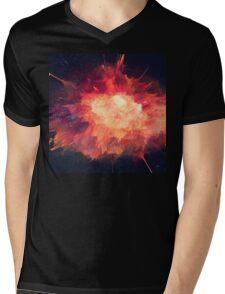 Abstract 32 Mens V-Neck T-Shirt