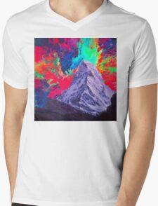Abstract 30 Mens V-Neck T-Shirt