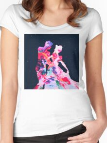 Abstract 29 Women's Fitted Scoop T-Shirt
