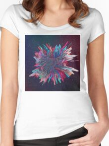Abstract 28 Women's Fitted Scoop T-Shirt