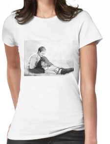 Blissful peace Womens Fitted T-Shirt