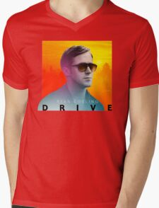 Drive Mens V-Neck T-Shirt