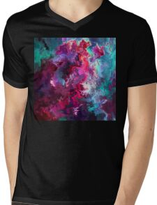 Abstract 23 Mens V-Neck T-Shirt