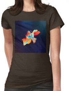 Abstract 21 Womens Fitted T-Shirt