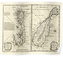 American Revolutionary War Era Maps 1750-1786 129 A new & accurate map of Bermudas or Sommer's Islands taken from an actual survey wherein the errors of Poster
